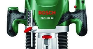 Bosch POF 1200 AE HomeSeries Oberfräse + Nutfräser